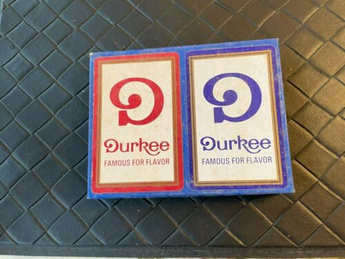 Vintage Durkee Advertising Playing Cards Two Decks New in Box