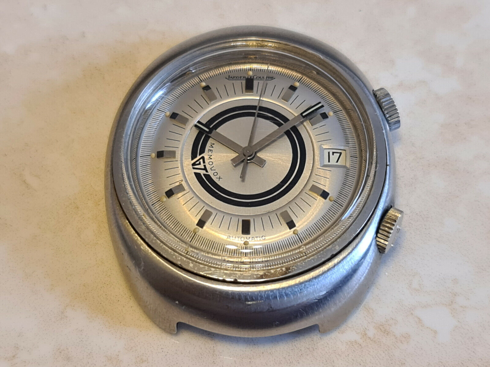 Vintage Jaeger-LeCoultre Memovox GT Automatic Alarmwatch E861 - watch picture 1