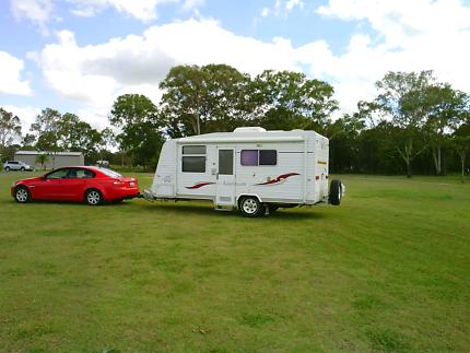 2010 Vanguard Leichhardt 18ft Caravan