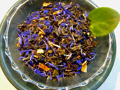 (Tea Pomegranate Green Flower Loose Leaf  Asian Green Tea Blend Natural Flavors)