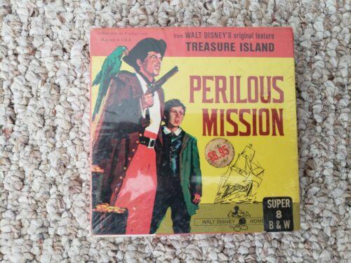 Vintage Walt Disney Treasure Island Perilous Mission Super 8 Film B&W New
