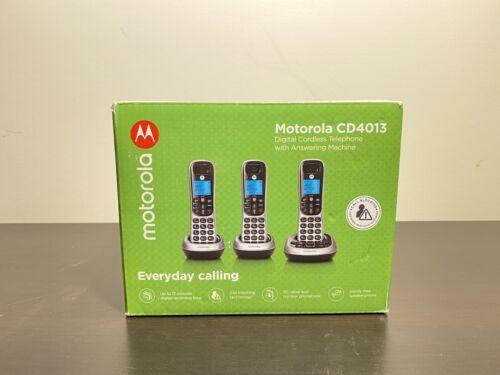 Motorola 3 Handset Cordless Phone System w/ Digital Answerin