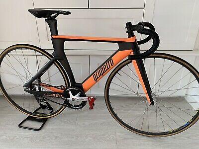 Carbon Track Bike Small 52cm Top 48cm Seat Tube. Grupetto AERO PISTA, Miche Deda
