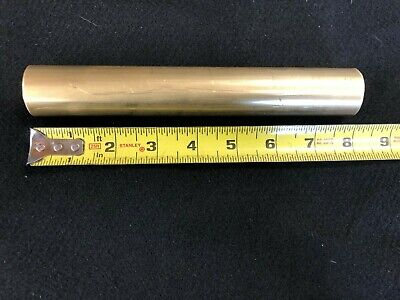 1-14 1.25 Round Brass Rodbar  8.00 Long  Lathe Or Milling Stock