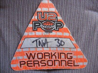 U2 CREW PASS Dublin 1997 Pop Mart Tour Working Personnel ORIGINAL! gebraucht kaufen  Versand nach Germany