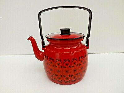 Vintage Enamel  Arabia Ware Kettle/Teapot