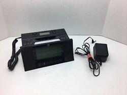 GE Corded Bedroom Phone 29298FE1-A Caller Id Digital Alarm Clock Am Fm Radio
