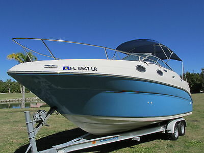Sea Ray 240 Sundancer / 318 hrs **NO RESERVE**