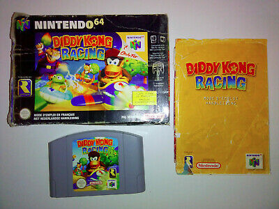 Diddy kong Racing 64 - N64 - Nintendo64 - Jeu console - VERSION PAL - Notice FR