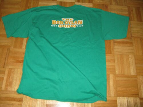 THE BOB DYLAN SHOW 2005 TOUR LOCAL CREW T-SHIRT XL NEW CONDITION RARE!