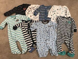 0-3/3 Month Sleepers and Onesies