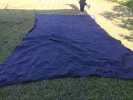 Coolaroo shade sail 5x3 Graphite - commercial grade