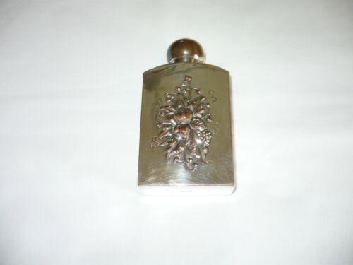 RARE-Vintage  FLASK Silver Plate Over Copper-Decorative-Excellent Condition