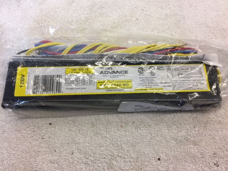 Advance REZ-2S32-SC 120V Two Lamp Fluorescent Ballast (2005)
