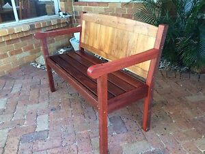 Solid garden bench Quinns Rocks Wanneroo Area Preview