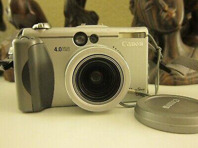 Canon PowerShot G3 4.0MP Digital Camera - Silver