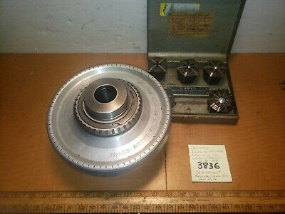 Jacobs Spindle Nose Lathe Chuck 91f1 218-8tpi Wcollets Southbend