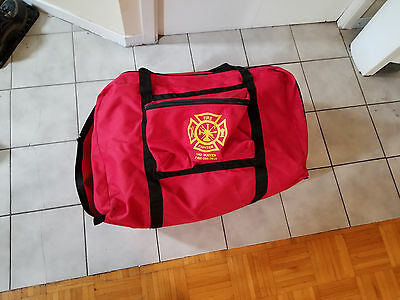Used Firefighter Turnout Bunker Gear Bag Need Repair