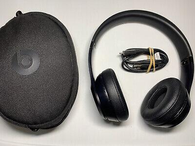 Beats by Dr. Dre Solo3 Wireless On the Ear Headphones - Matt Black