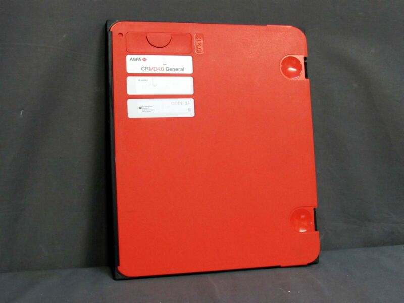 """* AGFA CR MD4.0 10x12"""" or 24x30cm GENERAL X-RAY CASSETTE & PLATE"""