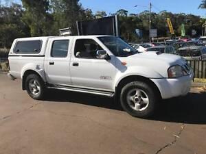 2009 Nissan Navara D22 Dual Cab - 4x4 - Diesel -Manual -Driveaway Cleveland Redland Area Preview