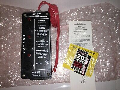 Mvc Inc. Mv400p Tvss Transient Voltage Surge Suppressor 480v 3w 60hz