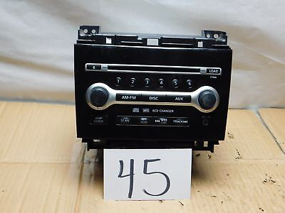 09 10 NISSAN MAXIMA Radio Stereo 6 Disc CD MP3 AUX AM & FM Used 28185-9N70B Nissan Maxima Stereo