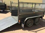 TANDEM 8X5 HI SIDE RAMP 600MM CAGE 1Y PRIV REGO 1Y WARRANTY $3000 Smithfield Parramatta Area Preview