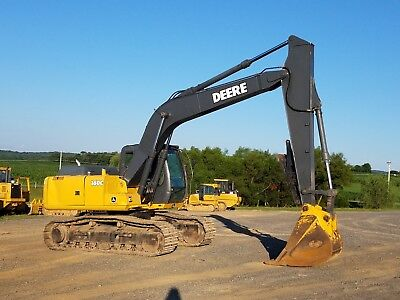 2004 John Deere 160c Lc Hydraulic Excavator Tracked Hoe Diesel Tractor W Thumb