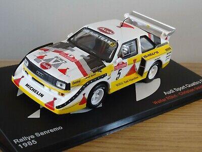 ALTAYA IXO AUDI SPORT QUATTRO E2 WRC 1985 RALLY ROHRL CAR MODEL MH03 1:43