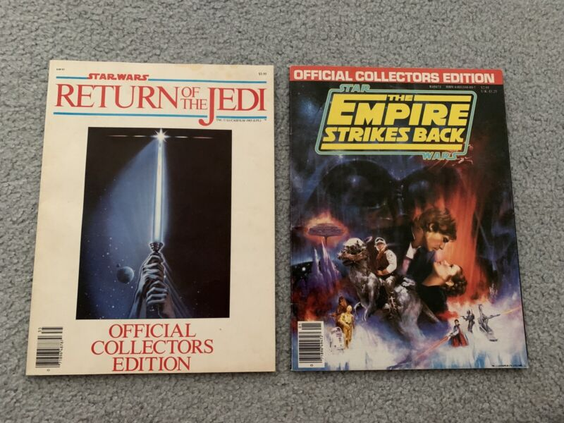 STAR WARS THE EMPIRE STRIKES BACK RETURN OF JEDI Official Collectors Edition