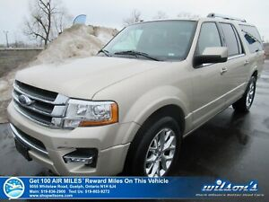 2017 Ford Expedition Max Limited 4x4 - Leather, Navigation, Sunr
