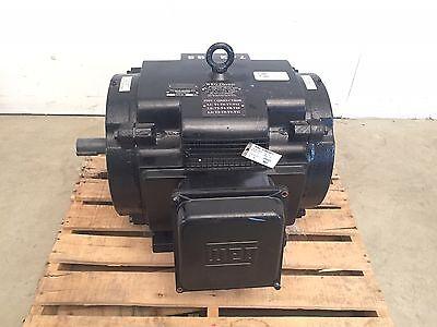 Weg Electric 07518ep3h365ts 75 Hp Electric Motor 575v 365ts Frame 1775 Rpm