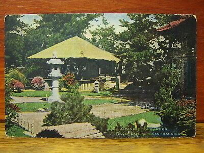 Tea Garden Golden Gate Park - Vintage UNUSED Postcard - Japanese Tea Garden, Golden Gate Park San Francisco CA