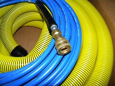Carpet Cleaning 50ft Vacuum Solution Hoses 1 12 Wand Cuff Connect