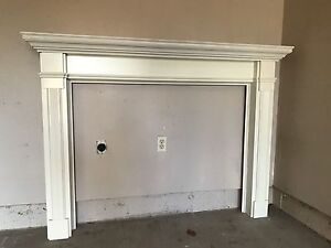 New Fireplace mantle (wood)