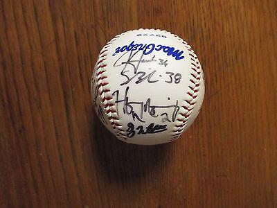 2004  Portland  Sea Dogs Signed Baseball(16 Signed/w/HANLEY RAMIREZ/RYAN LARSON)