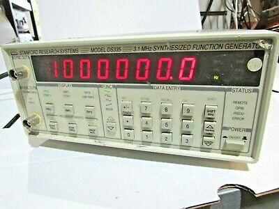 Stanford Research Systems Ds335 3.1 Mhz Synthesized Function Generator