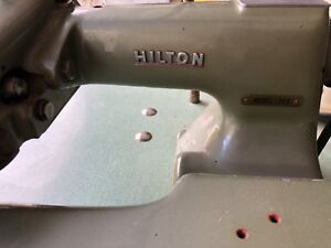 Vintage Sewing Machine with Table  Hilton Model 300