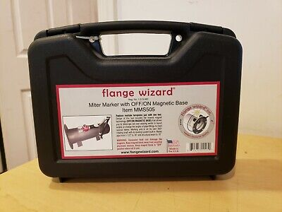 Flange Wizard Mms505 Miter Marker With Offon Magnetic Base