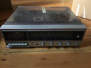 Tuner record player tape deck