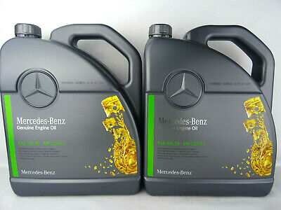 Mercedes Benz MB 229.51 5W-30 Motoröl 5W30 Genuine Engine Oil 2x 5Liter Original