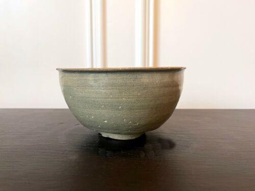 Korean Ceramic Celadon Deep Bowl Goryeo Dynasty