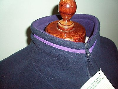 Nag Rags Polar Fleece In Navy Size Medium