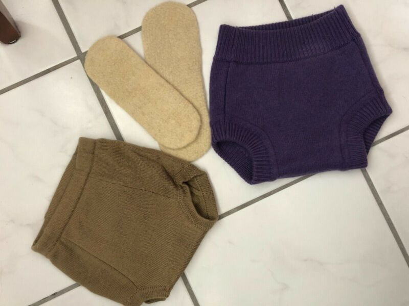 Sloomb / Sustainablebabyish Wool Cloth Diaper Cover & Underwoolie