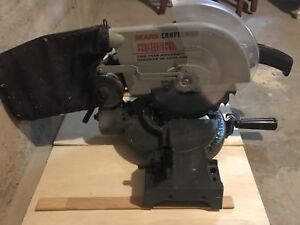 Craftsman Compound Miter Saw 10 inch