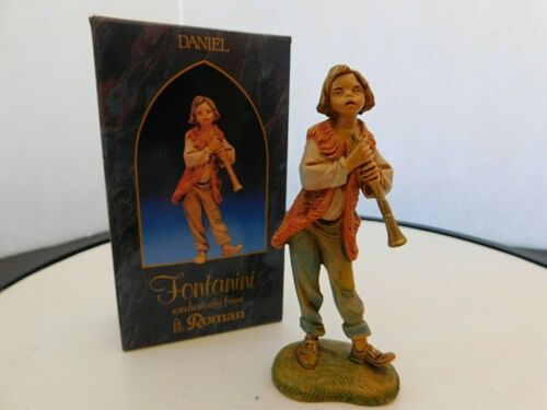 """Fontanini Italy """"Daniel""""  7.5 inches Figurine with Box & Story Card"""