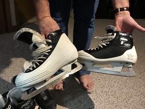 Goalie Skates - size 9