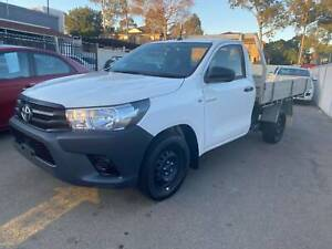 2015 TOYOTA WORKMATE CAB CHASSIS TURBO DIESEL Granville Parramatta Area Preview