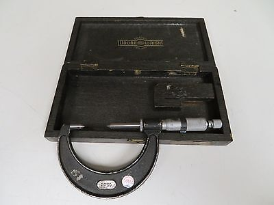 Moore Wright 25-50mm Metric Point Micrometer - Fs21